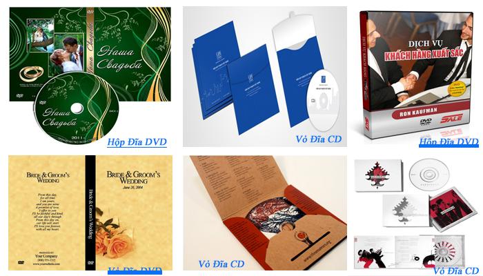 thiết kế bìa đĩa dvd