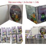 Chép đĩa DVD in nhãn đĩa in bìa hộp
